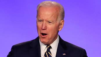 Media split on Biden accusations
