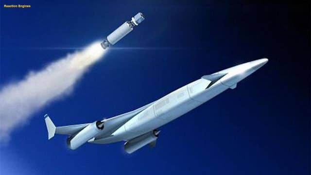 Hypersonic plane passes crucial test