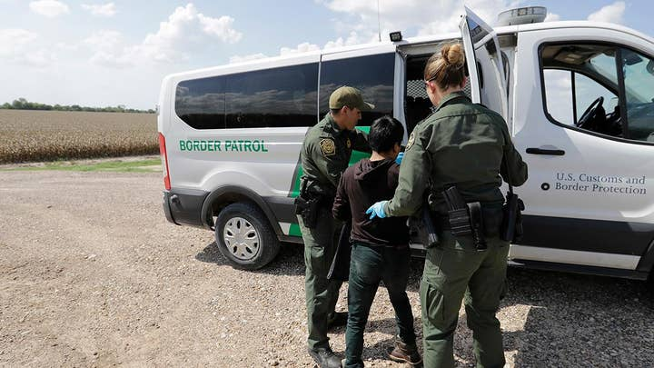 Texas grappling with record number of migrants crossing into US