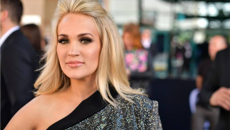 Carrie Underwood dazzles on 2019 ACM red carpet