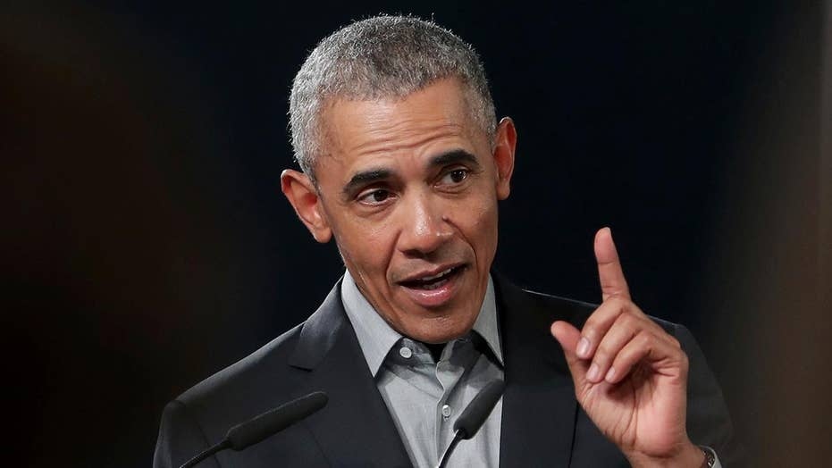 Former President Obama warns Democrats about the danger of fighting each other.