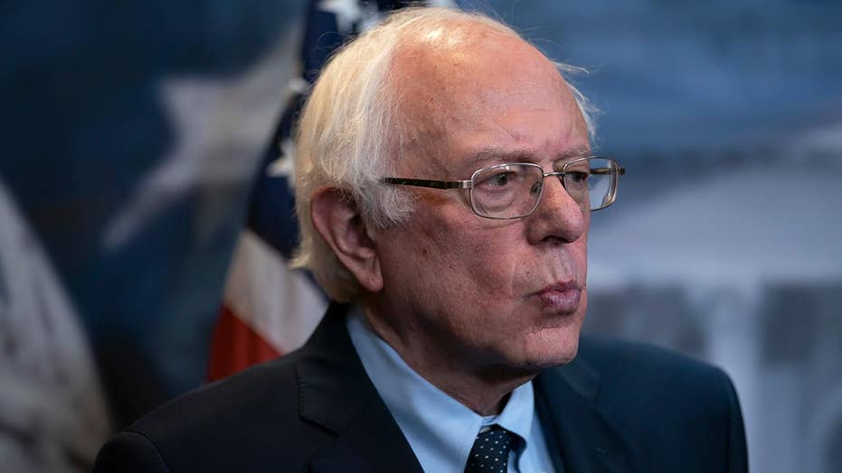 What makes Bernie Sanders a front runner among 2020 Democrats?