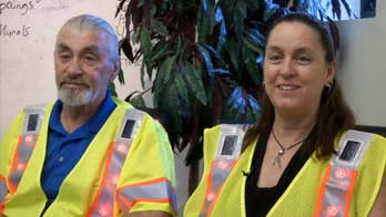 Couple invents solar-powered safety vests to help protect workers