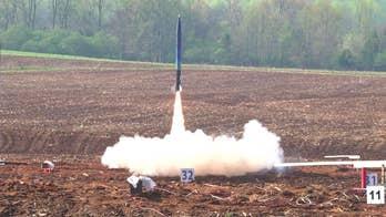 NASA launches student rocket challenge
