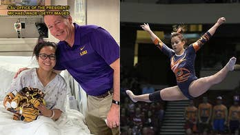 Auburn University senior gymnast reacts to video of leg injury: 'My pain is not your entertainment'