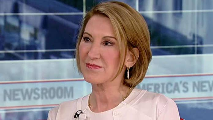 Former HP CEO Carly Fiorina says Dems will lose 2020 if they keep pushing anti-capitalist message