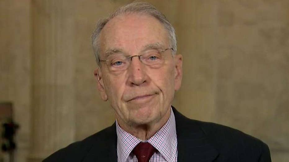 Grassley: Dems asking for Trump's tax returns is a misuse of congressional oversight