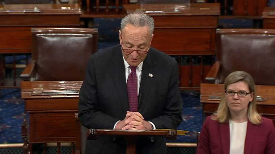 Chuck Schumer pays tribute to late Sen. Fritz Hollings of South Carolina