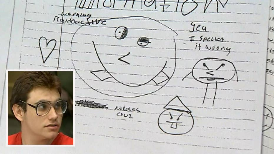Love letters written from jail by confessed Parkland shooter released