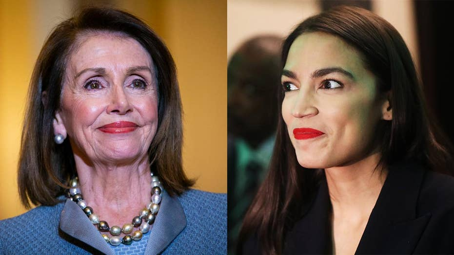 Pelosi appears to mock Ocasio-Cortez over reliance on Twitter for support