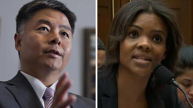 Explosive showdown between Candace Owens and Ted Lieu at a House Judiciary Committee hearing
