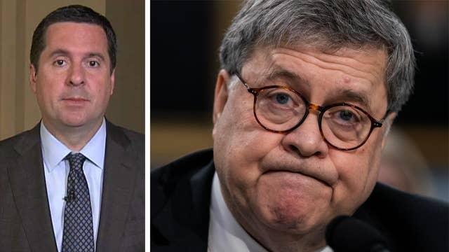 Rep. Nunes praises Barr for reviewing origins of Russia probe, defends $150M defamation lawsuit