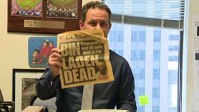 Before and after: Brian Kilmeade's cluttered office gets organized