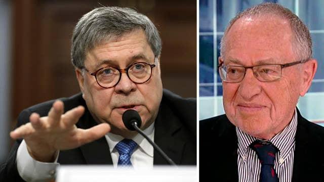 Alan Dershowitz: Bill Barr wants to depoliticize the Department of Justice