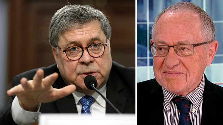 Alan Dershowitz: Bill Barr wants to depoliticize the Department of Justice