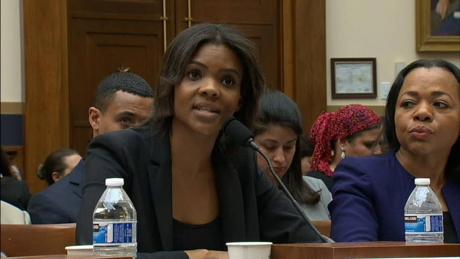 Conservative commentator Candace Owens accuses Democrat of distorting her comments