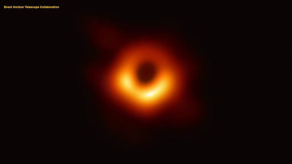 Scientists release the first picture of a black hole ever captured