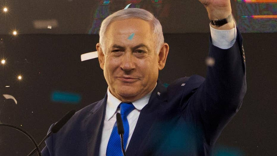 Benjamin Netanyahu set to win fifth term as Israeli prime minister, opposition party concedes