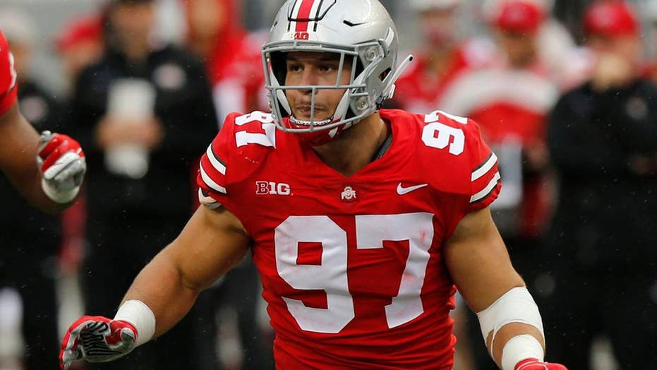 NFL prospect Nick Bosa deletes MAGA tweets: 'I may end up in San Francisco'