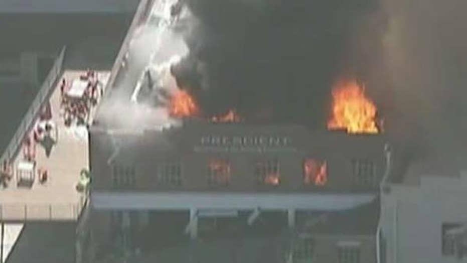 Gas explosion rocks downtown Durham, North Carolina