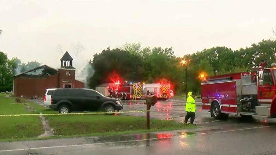 Investigators looking into 'suspicious' church fires in Louisiana