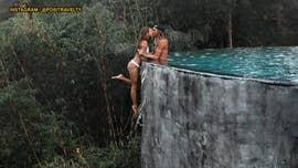 Instagram couple responds to 'stupid' infinity pool photo controversy