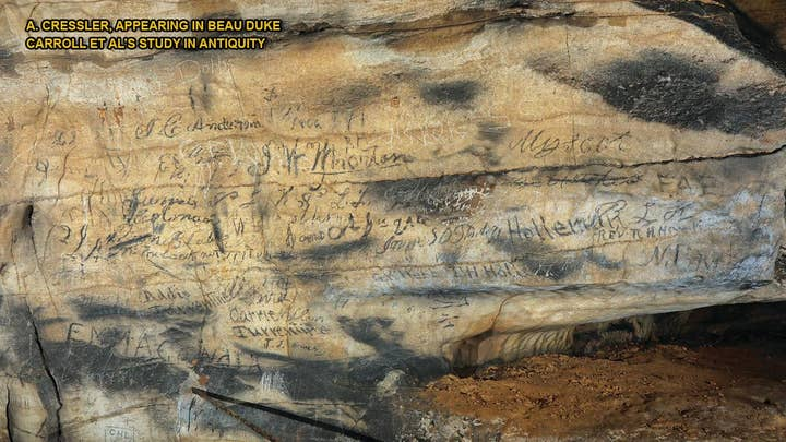 Mysterious Cherokee cave scrawlings deciphered after two centuries