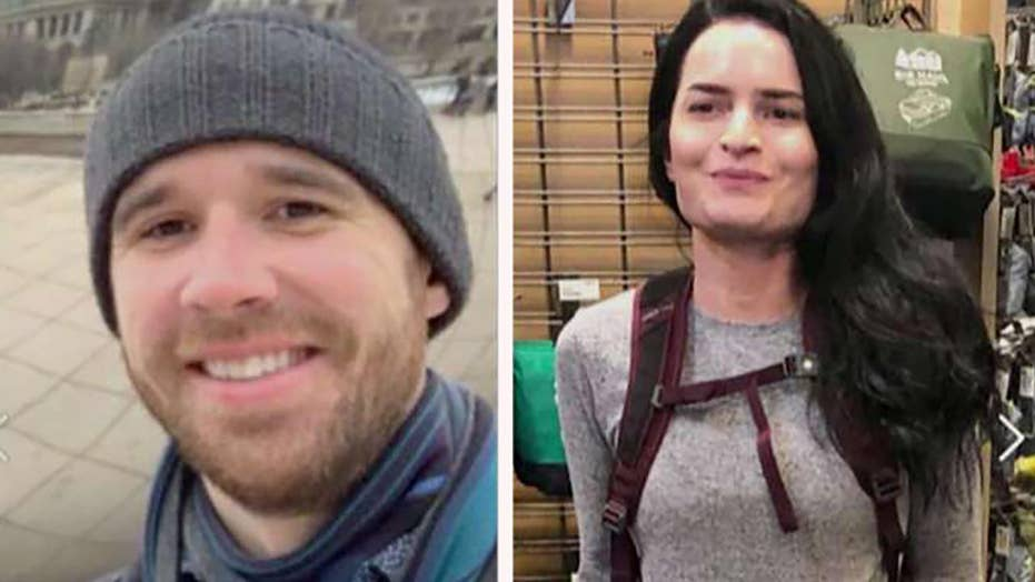 Missing hikers found alive after rescuers use footprints to locate pair
