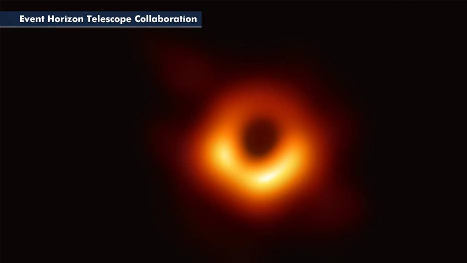 Scientists reveal the first-ever image of a black hole