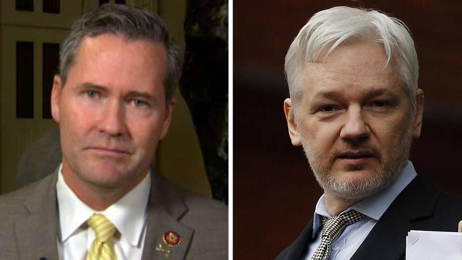 Rep. Michael Waltz on Julian Assange arrest: I hope the Justice Department throws the book at him