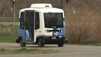 Maiden voyage for driverless shuttles in Utah