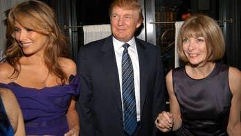 'Vogue' editor-in-chief Anna Wintour overlooks Melania Trump in CNN interview