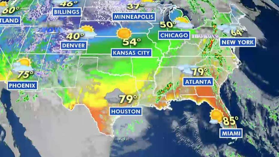 National forecast for Friday, April 12
