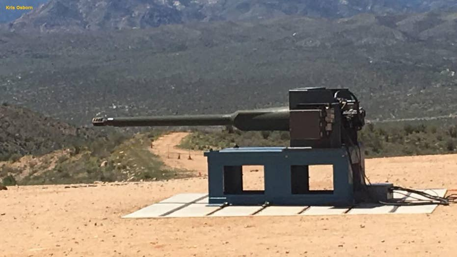 Live-fire demo shows off the Army's new 50mm cannon7