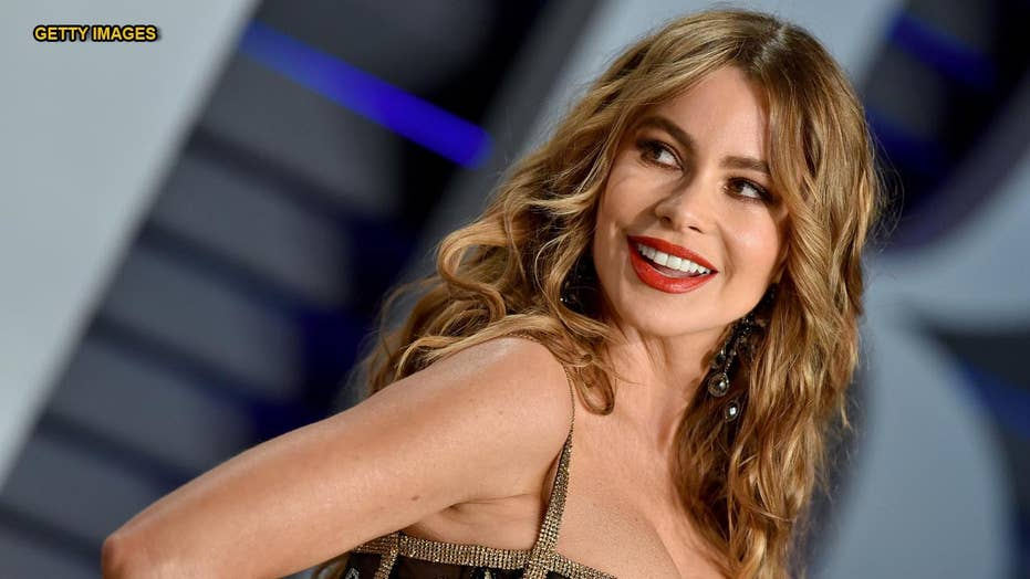'Modern Family' star Sofia Vergara travels behind to a '90s with topless Instagram pic