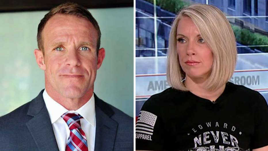 Wife of detained Navy SEAL Eddie Gallagher makes plea to President Trump: 'You're being lied to'