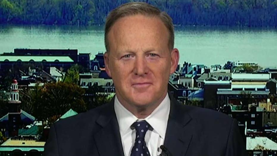Spicer: When Mueller didn't substantiate the political charges Democrats made, they moved on to attack AG Barr