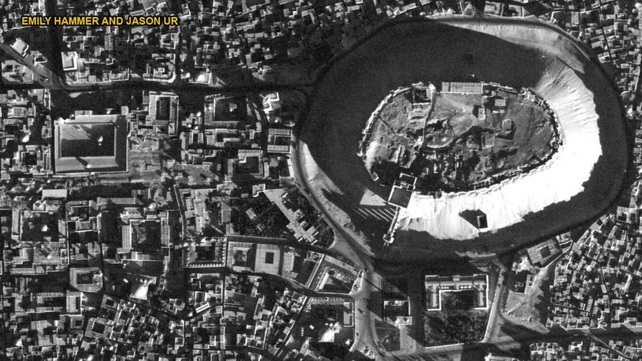 Declassified U2 spy plane images reveal ancient sites