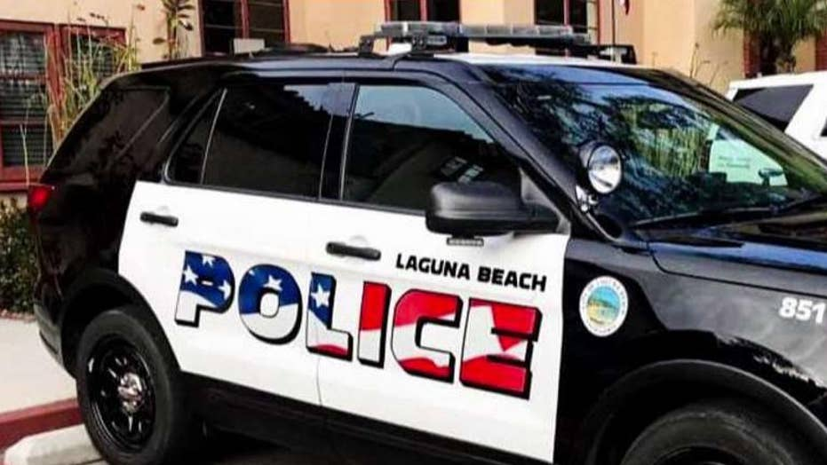 Laguna Beach debates whether American flags on police vehicles are too aggressive