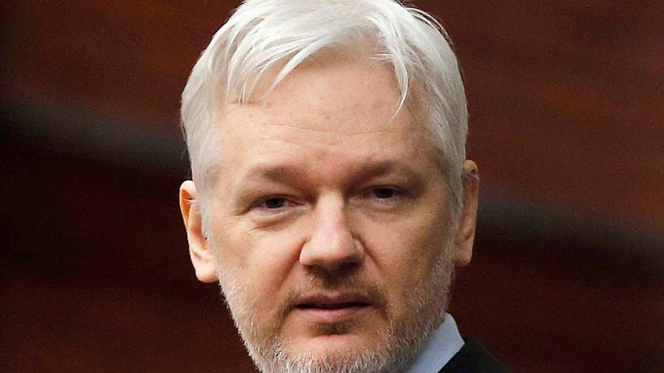 Assange claims journalistic cover
