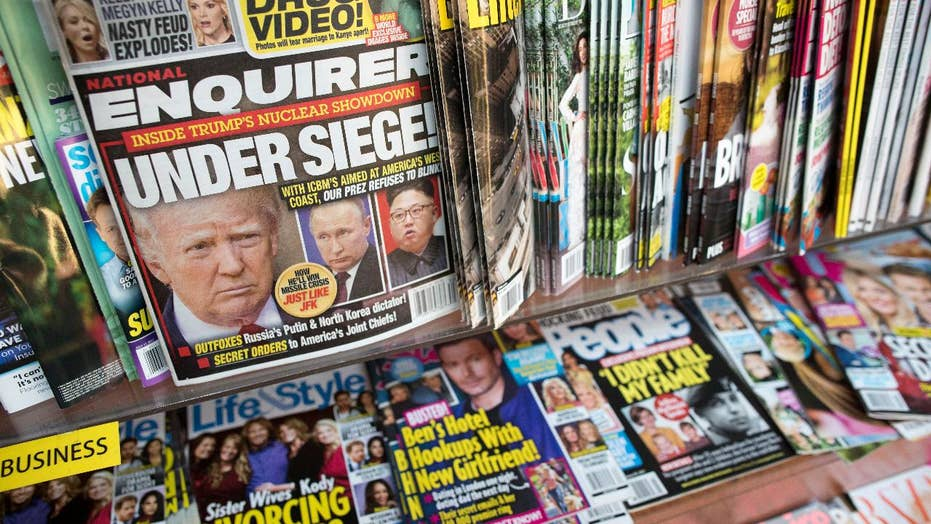 National Enquirer on the brink