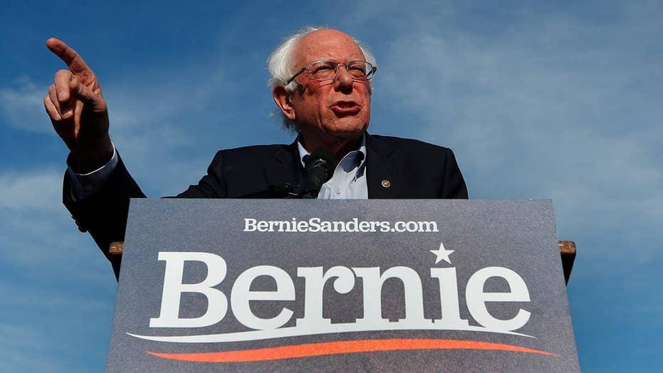 Bernie Sanders holds rally in Pittsburgh, Pennsylvania