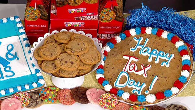 Tax Day deals from Great American Cookies, Bruegger's Bagels and Kona Ice