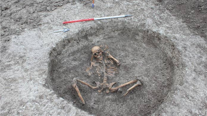 'Human sacrifice' victims discovered at gruesome ancient site