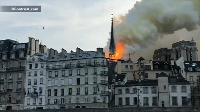 Trump responds to Notre Dame cathedral fire: 'Must act quickly'