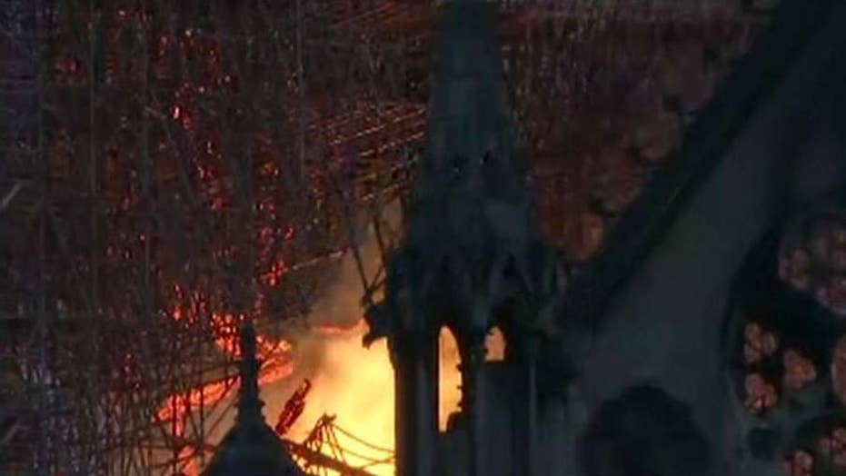 Catholics around the world react to devastating fire at Notre Dame