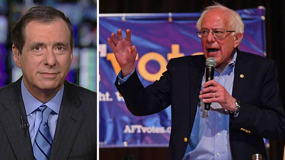 Howard Kurtz: Why is Bernie Sanders picking a fight with one liberal website?