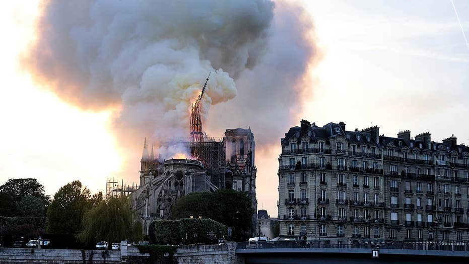 Paris in shock after fire destroys Notre Dame Cathedral