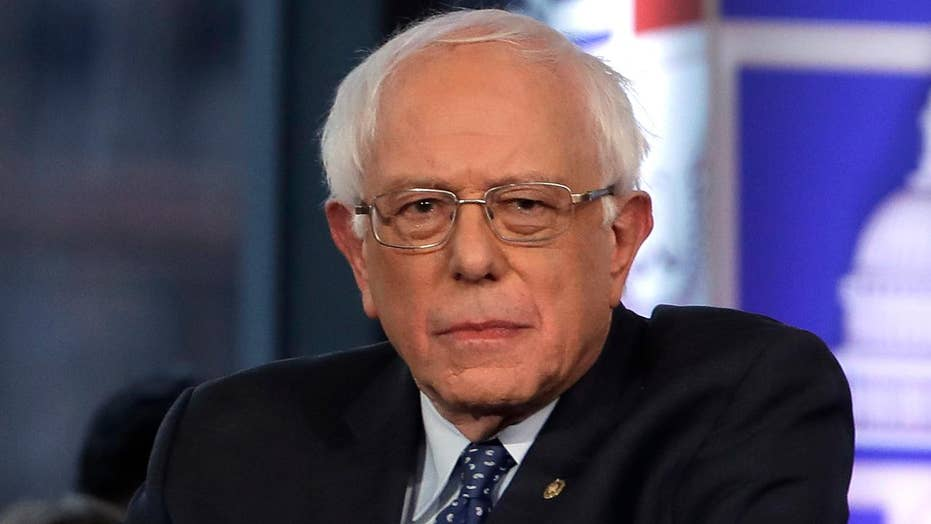 Fox News hosts a town hall with Bernie Sanders