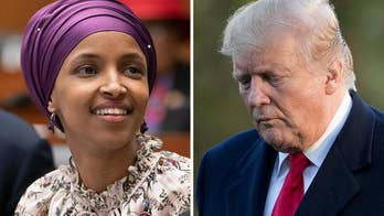 Trump, Omar clash over video of 'Squad' member dancing as she says 'lies' put life at risk